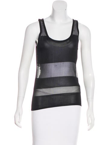 Robert Rodriguez Sleeveless Knit Top w/ Tags None