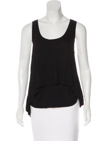 Robert Rodriguez Sleeveless Knit Top None