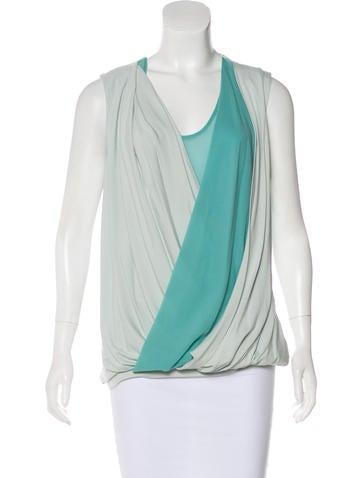 Robert Rodriguez Sleeveless Knit Top None