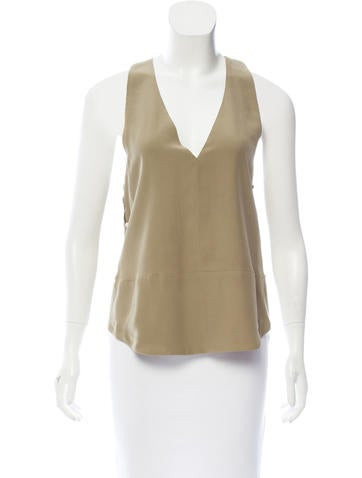 Robert Rodriguez Silk Racerback Top w/ Tags None
