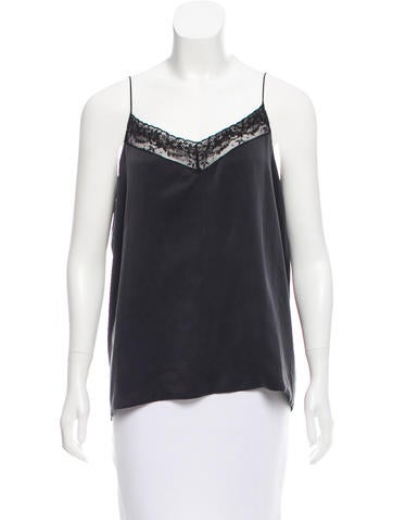 Robert Rodriguez Silk Open Back Top w/ Tags None