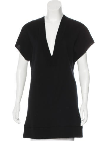 Robert Rodriguez Cashmere Tunic Top None