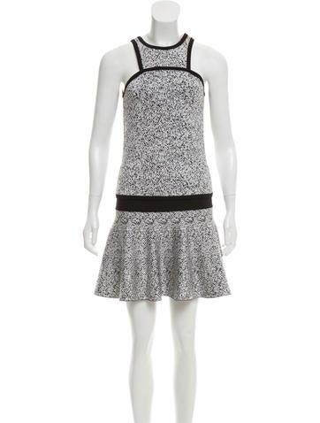 Robert Rodriguez Sleeveless Mini Skirt Set None