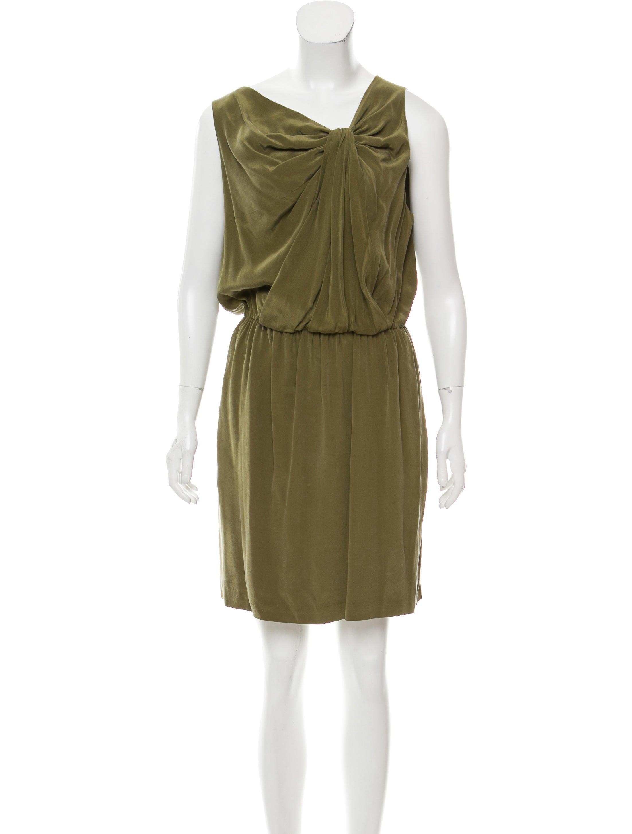 Robert Rodriguez Sleeveless Silk Dress Cheap Price Buy Cheap Recommend Top Quality Cheap Price Sale New ljYkCUI