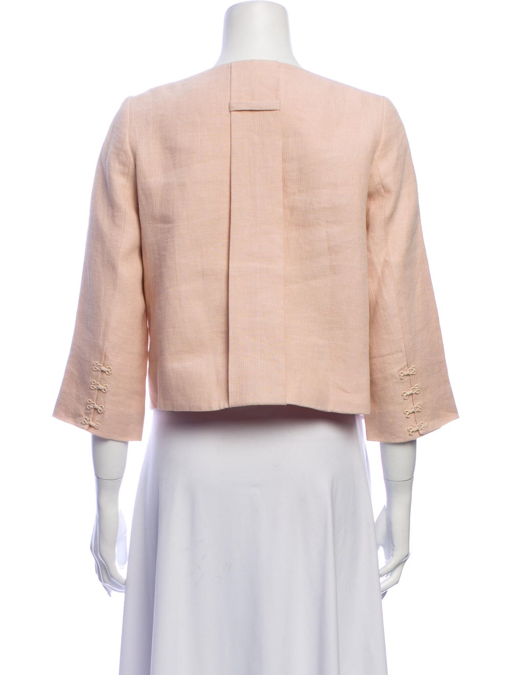 Robert Rodriguez Linen Evening Jacket - image 3
