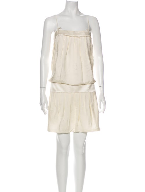 Robert Rodriguez Silk Mini Dress