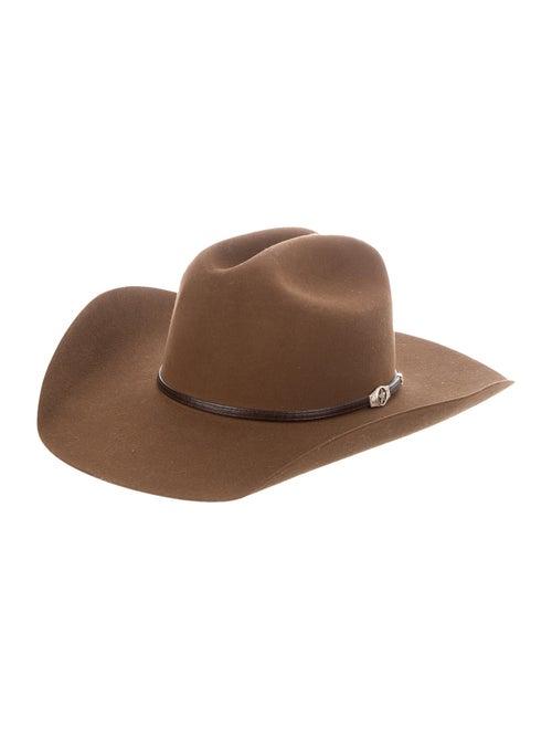 Resistol Ranch Felt Fedora brown
