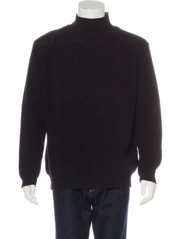 RRL & Co. Mock Neck Knit Sweater None