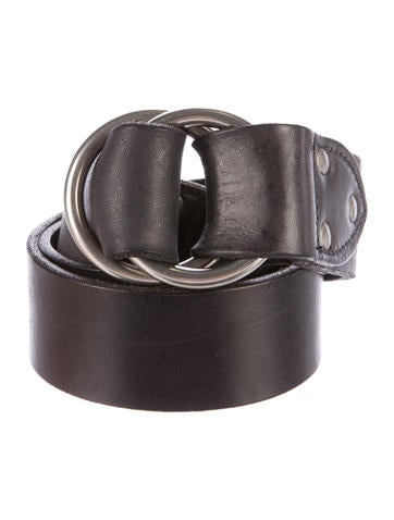 rrl co leather o ring belt accessories wrrll20380