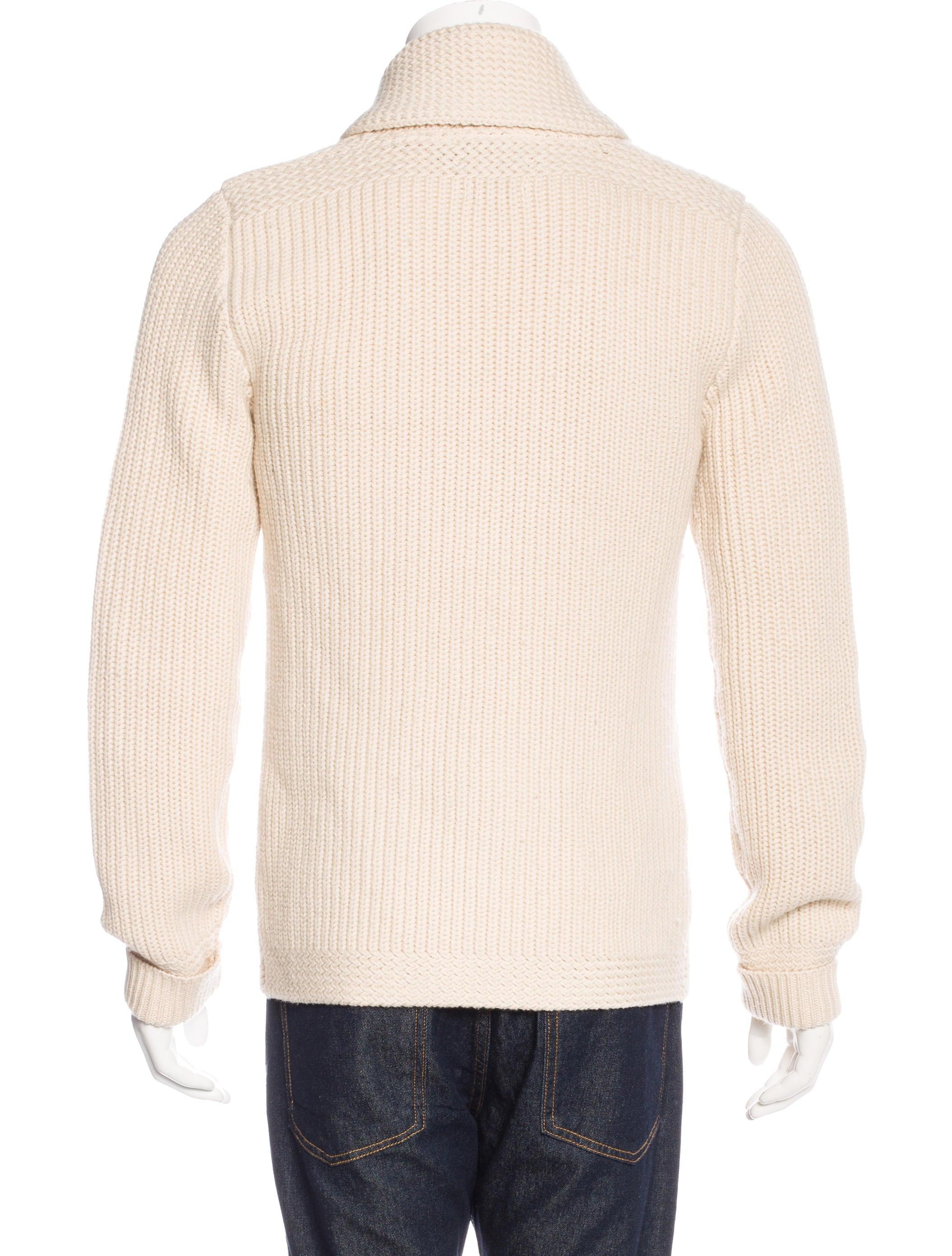 Knitting Wear Company : Rrl co wool rib knit cardigan clothing wrrll