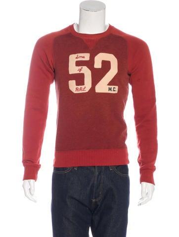 RRL & Co. Crew Neck Sweatshirt None