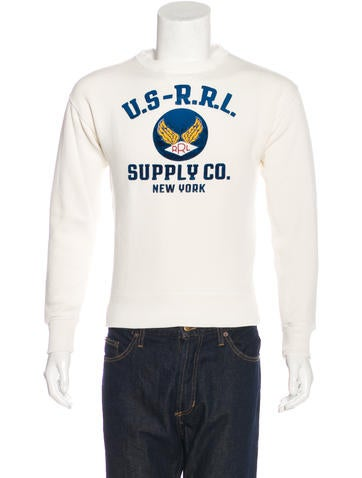 RRL & Co. Logo Graphic Sweatshirt None