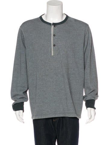 RRL & Co. Henley Crew Neck Sweater None