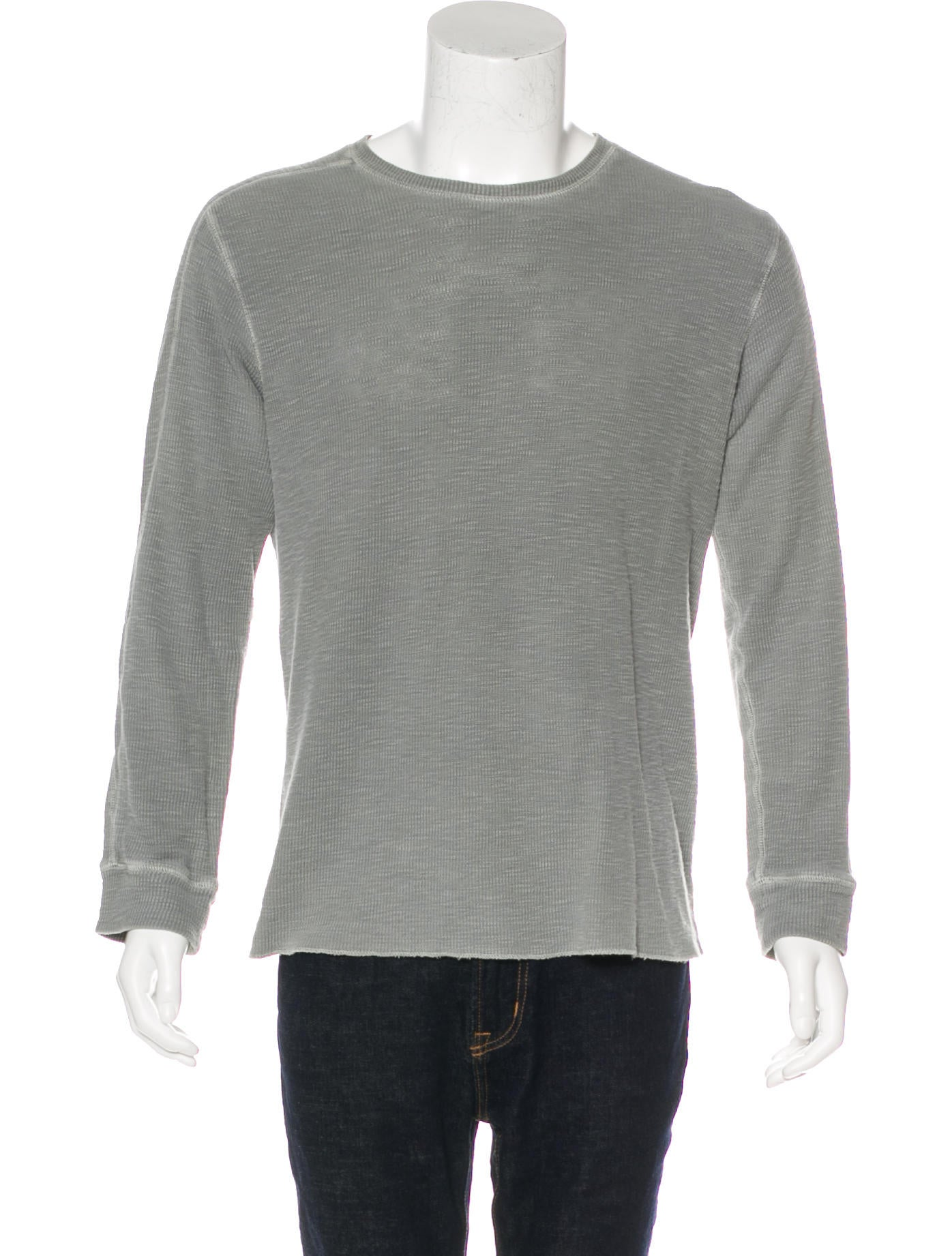 Rrl Co Long Sleeve Thermal T Shirt Clothing: thermal t shirt long sleeve