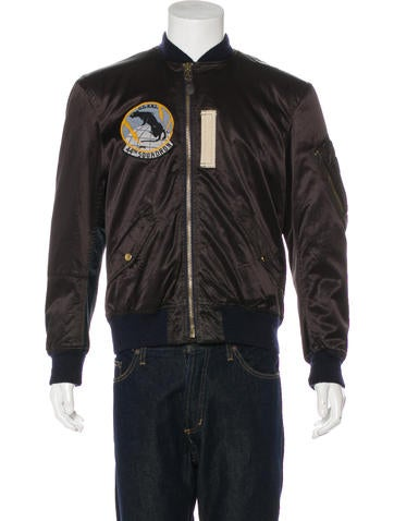 RRL & Co. Satin Type D-2 Flight Jacket None