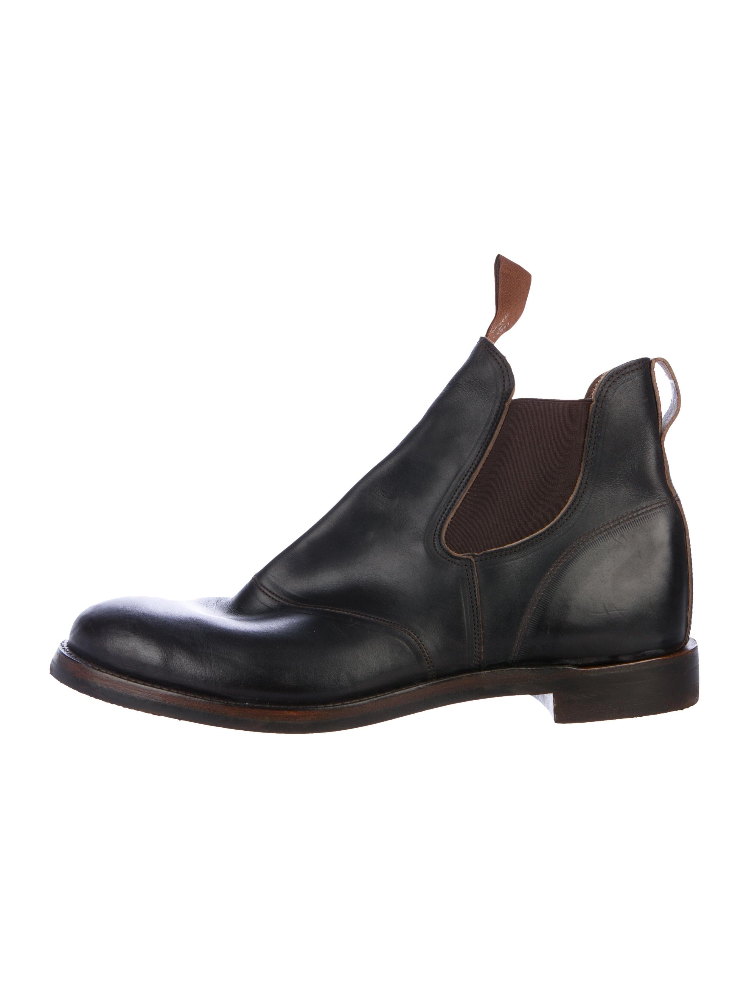 RRL \u0026 Co. Leather Chelsea Boots - Shoes