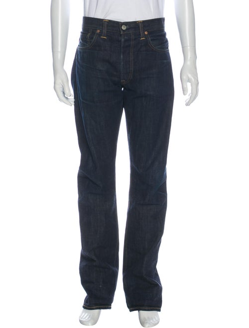 RRL & Co. Straight-Leg Jeans Blue