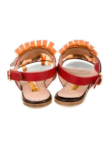 Erda Slingback Kiltie Sandals