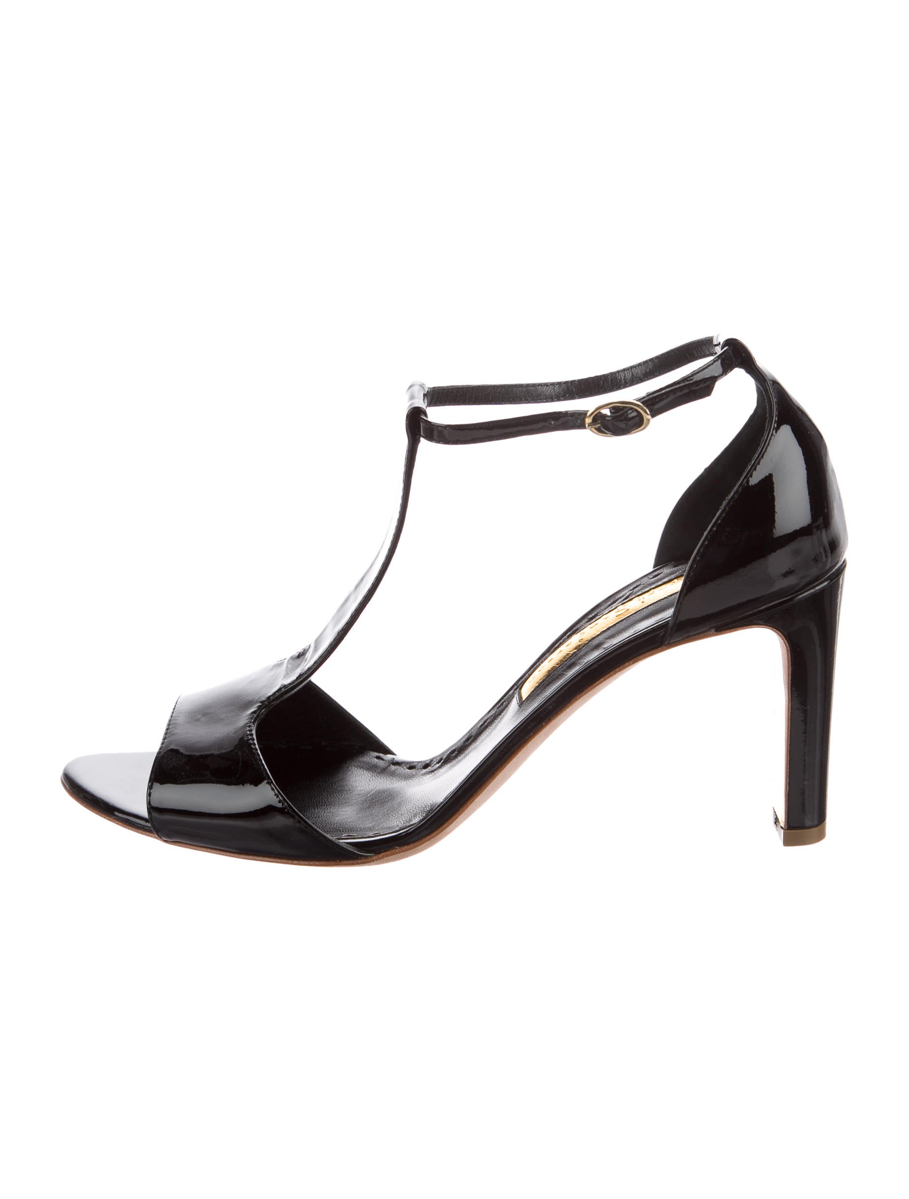 Rupert Sanderson Jana Patent Leather Sandals free shipping very cheap discount shop offer collections online official cheap price low shipping fee cheap online AKBZgiS