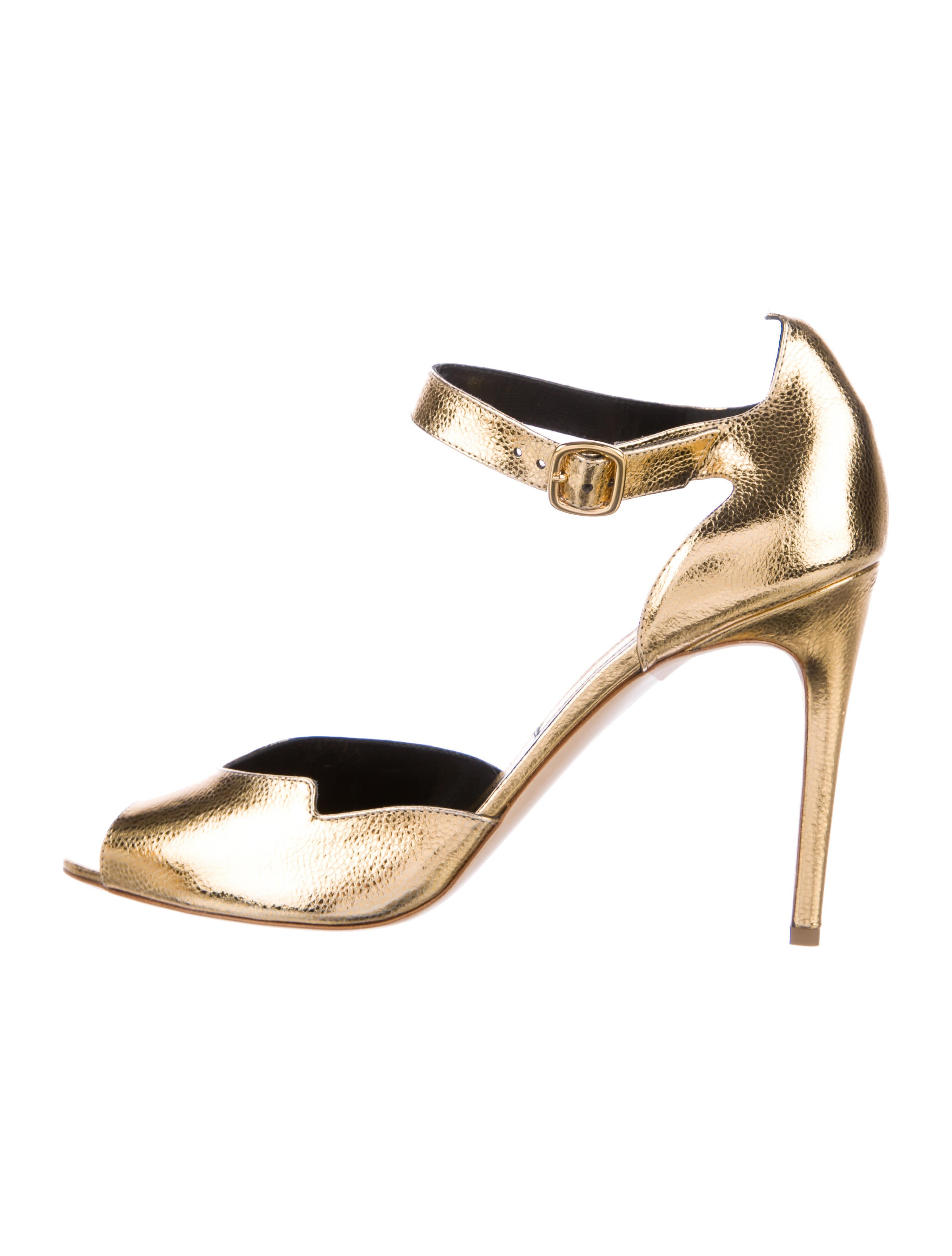 Rupert Sanderson Telita Metallic Pumps w/ Tags the cheapest cheap online buy cheap find great free shipping with credit card buy cheap price clearance amazing price GtKuY9BGC