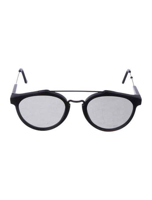 RetroSuperFuture Tinted Aviator Sunglasses Black
