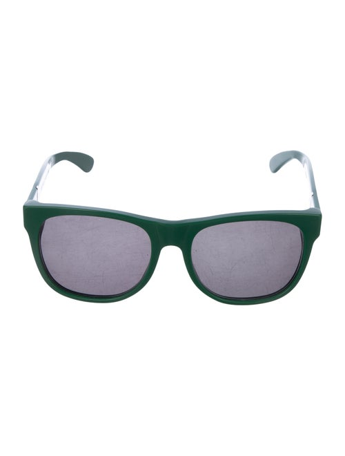 RetroSuperFuture Tinted Wayfarer Sunglasses Green