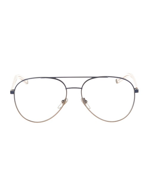 RetroSuperFuture Metal Eyeglasses Blue