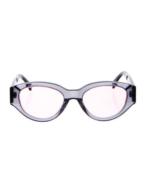 RetroSuperFuture Acetate Round Sunglasses Blue