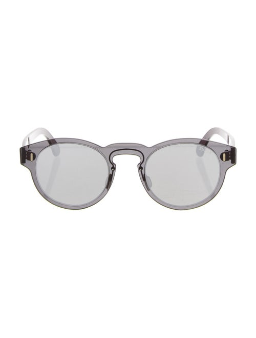 RetroSuperFuture Paloma Mirrored Sunglasses Black