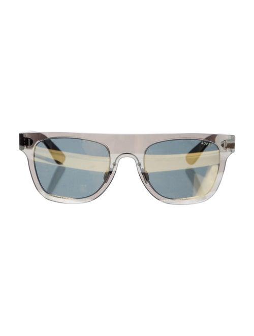 RetroSuperFuture Wayfarer Mirrored Sunglasses w/ T