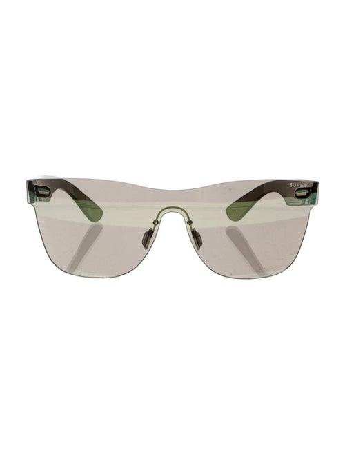 RetroSuperFuture Classic Mirrored Sunglasses w/ Ta