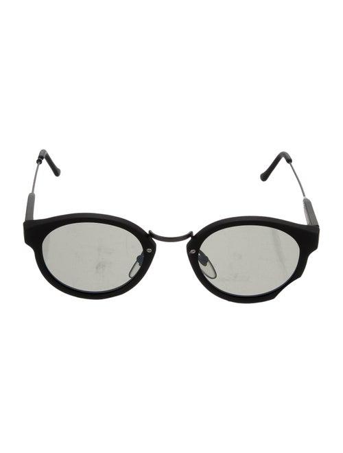 RetroSuperFuture Panama Round Sunglasses Black