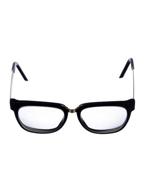 RetroSuperFuture Acetate Square Sunglasses Black