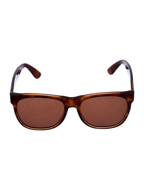 RetroSuperFuture Wayfarer Tinted Sunglasses Brown