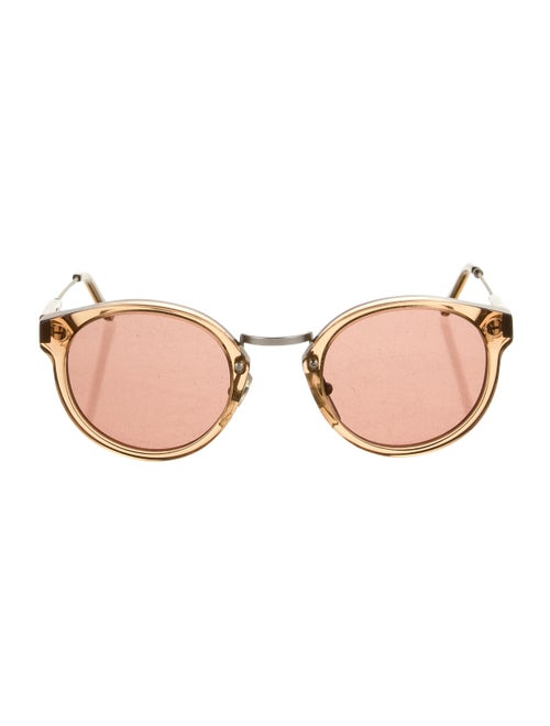 RetroSuperFuture Round Tinted Sunglasses Brown