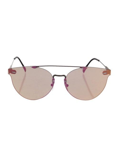 RetroSuperFuture Giaguaro Mirrored Sunglasses w/ T
