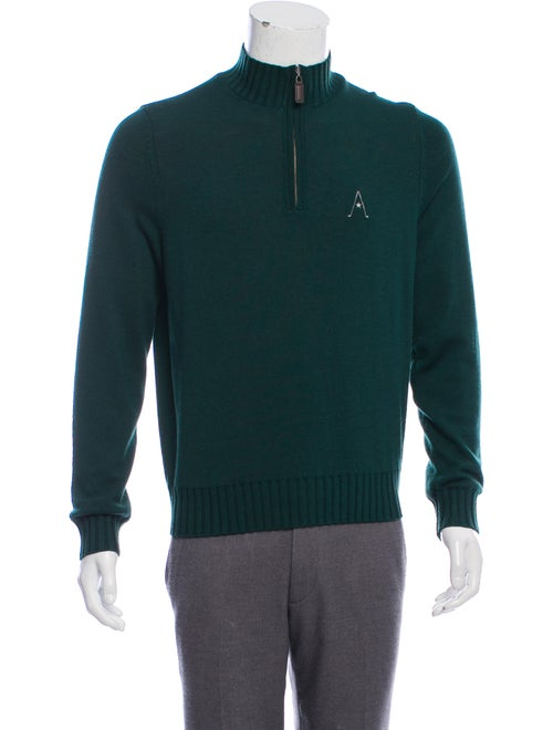 Martin Wool Embroidered Sweater green