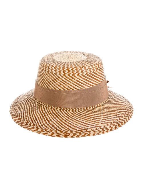 Ruslan Baginskiy Straw Wide Brim Hat