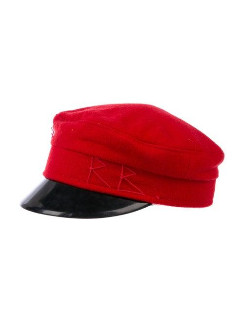 Ruslan Baginskiy Wool Newsboy Hat wool