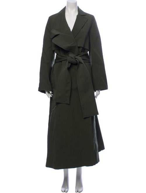 RUH Trench Coat Green