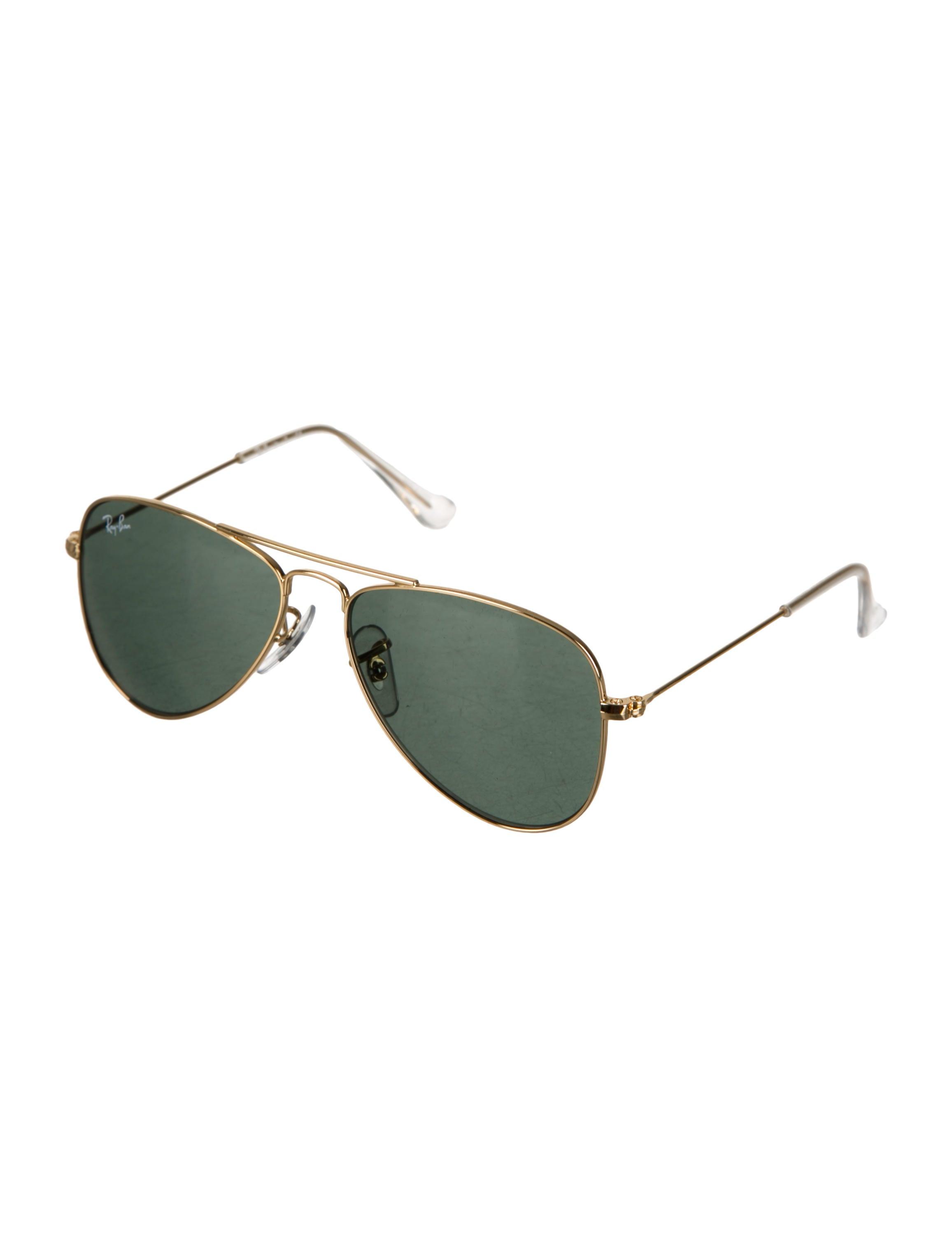 1e38b9a112730 Ray-Ban Girls  Gold-Tone Aviator Sunglasses - Girls - WRX23041