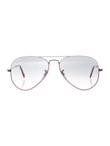 Colorblock Aviator Sunglasses