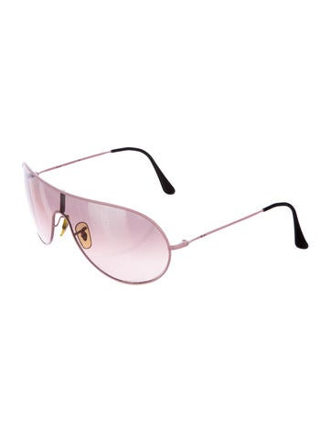 Tinted Shield Sunglasses