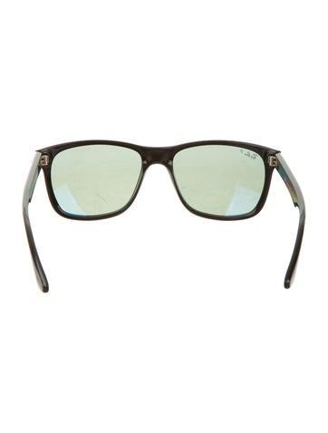 Logo-Embellished Wayfarer Sunglasses