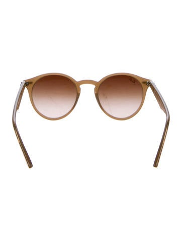 Gradient Round Sunglasses