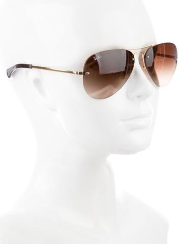 Tinted Aviator Sunglasses