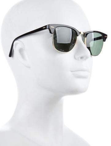 Tinted Clubmaster Sunglasses