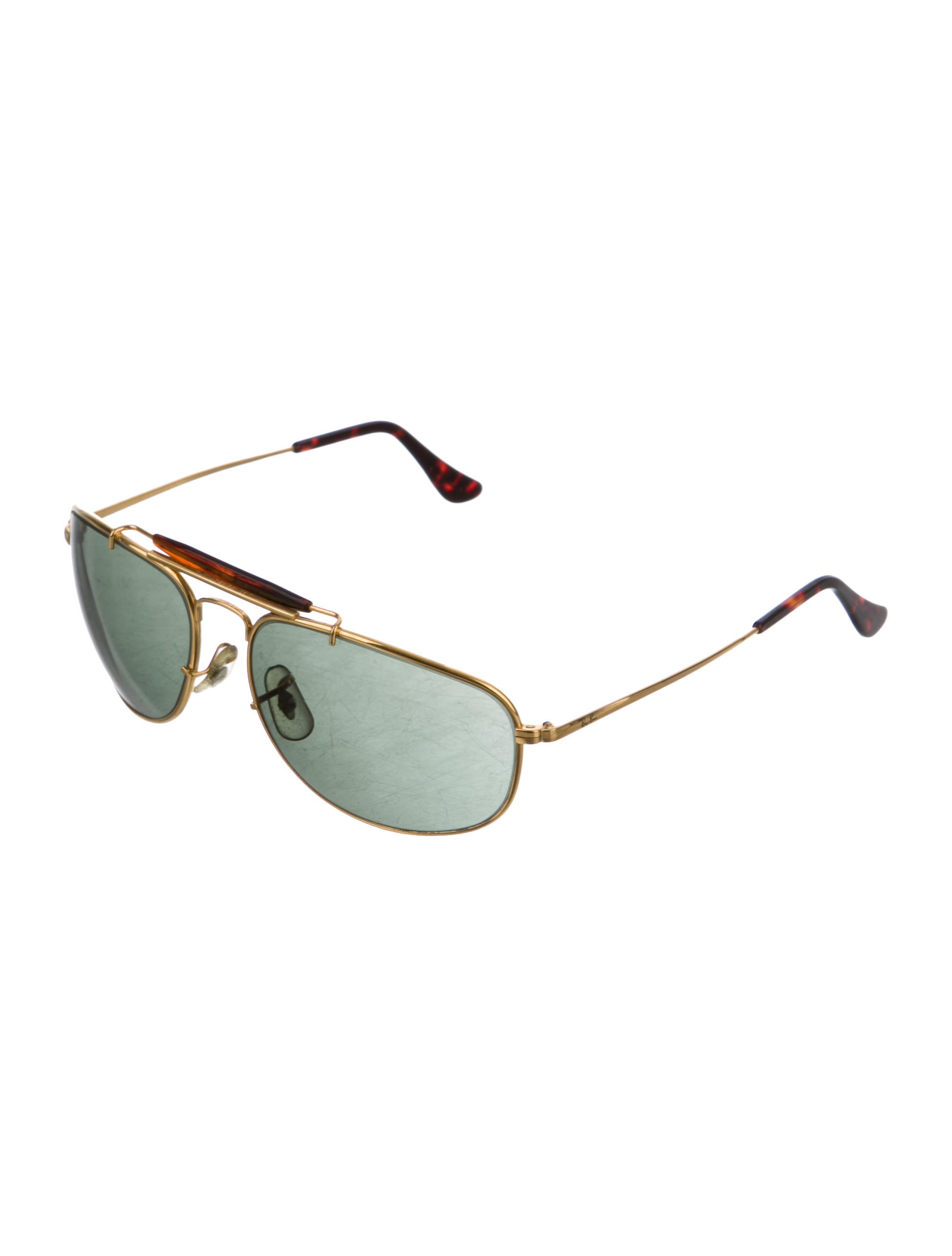 55305d7dbf7 Ray-Ban Olympic Games Gold-Tone Sunglasses - Accessories - WRX25364
