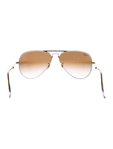 86dd9cf651 Ray Ban Aviator Gradient Sunglasses Gold Brown Curtains For Living ...