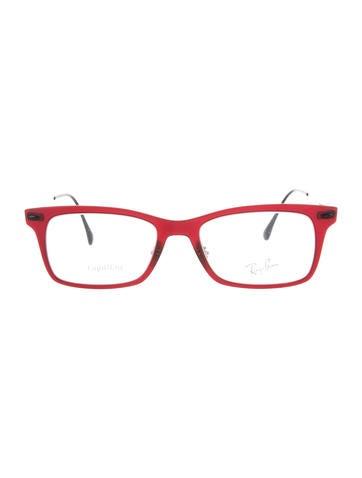 Ray-Ban Rectangle Light Ray Eyeglasses None